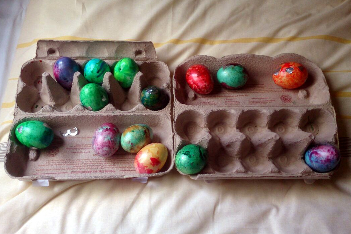 Frohe Ostern …